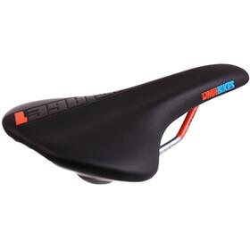 DMR Stage1 Saddle CroMo Men, black/tango orange
